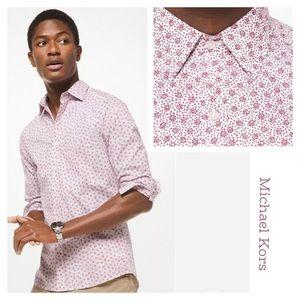 Take 50% off!!🌺 MK Stretch Slim Fit Shirt